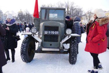 冬のロシア⑤サンクトペテルブルク散策とレニングラード解放75周年